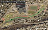 Lower Spring Creek Trial Area