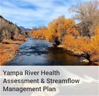Yampa River Health Assessment and Streamflow Management Plan with river image