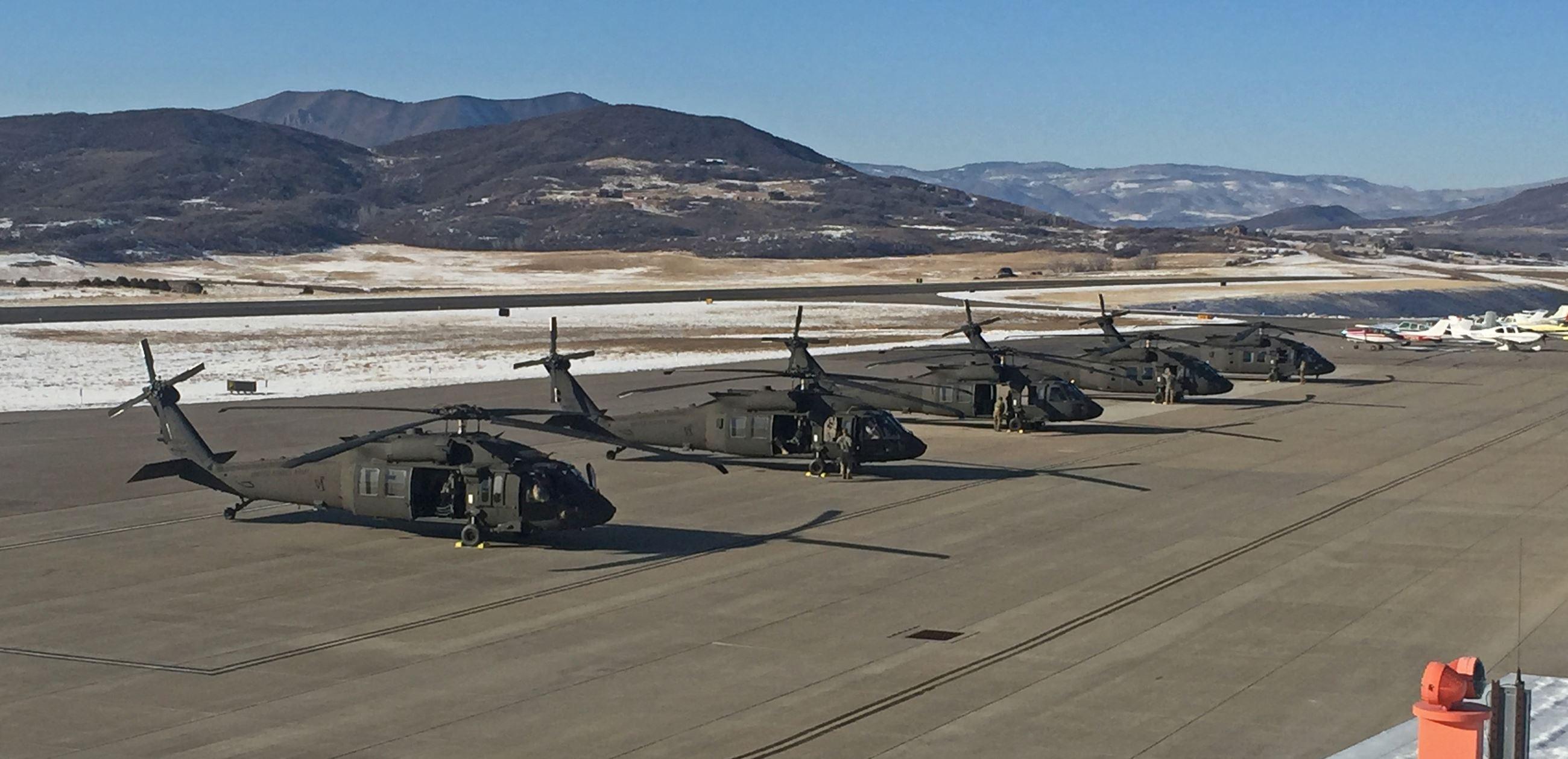 US Army Blackhawk Helicopters