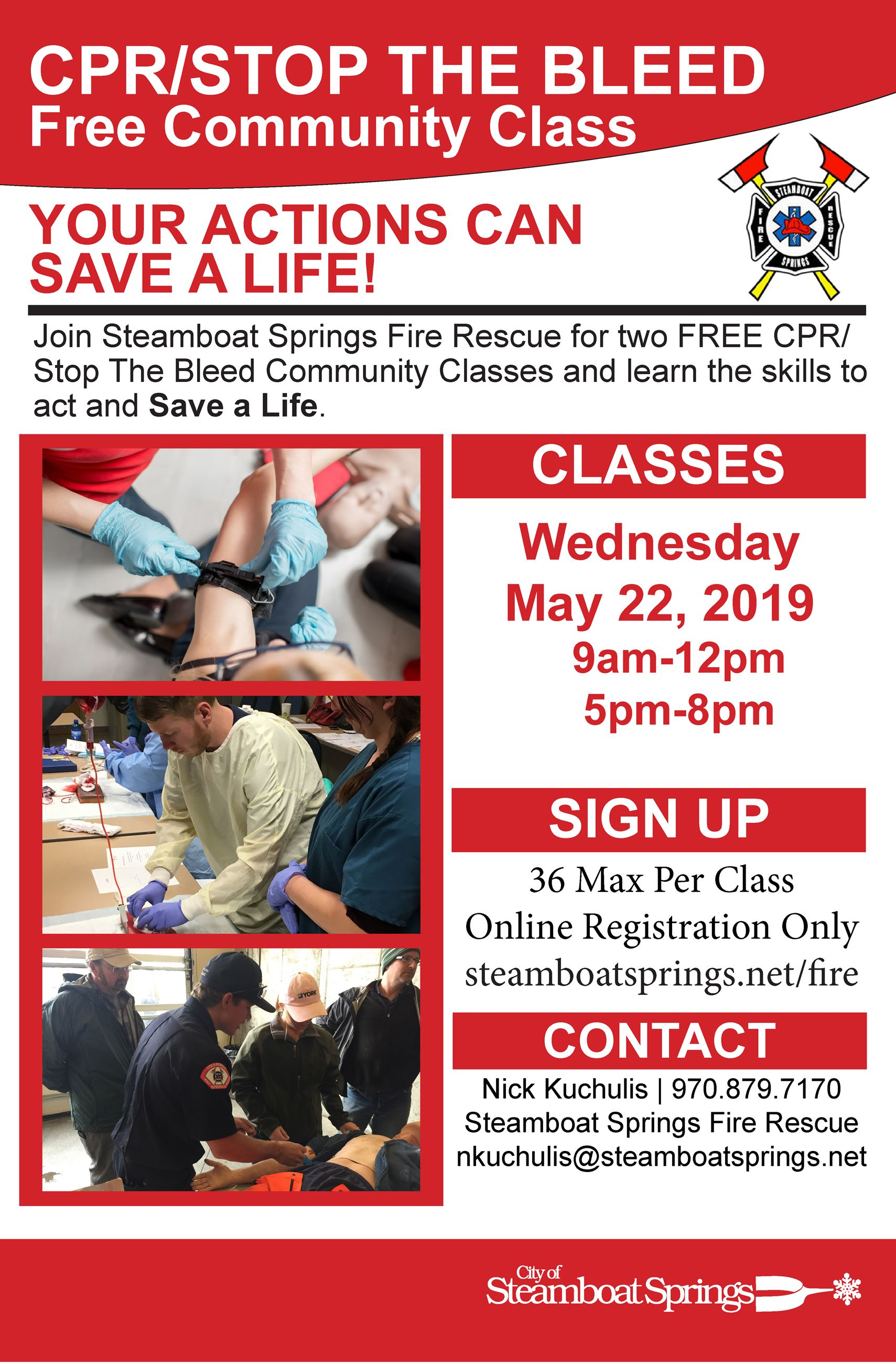 CPR-Stop The Bleed May 2019