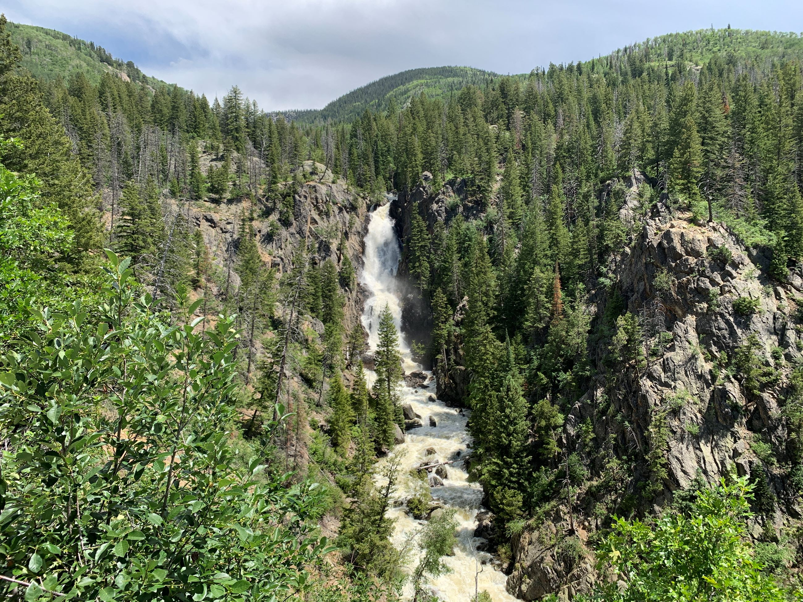 Fish Creek Falls Overview